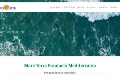 Mare Terra estrena una nueva web