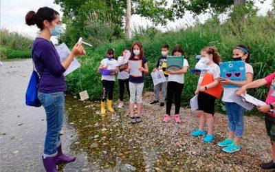 Científics per un dia a l'Escola de Natura